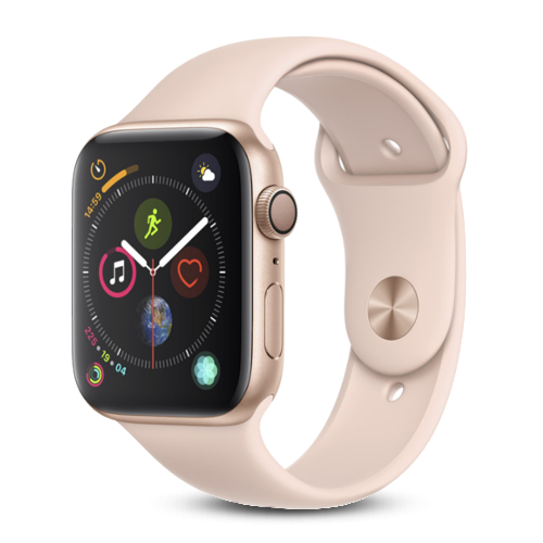 Apple Watch Series 4 - Goud - Roze