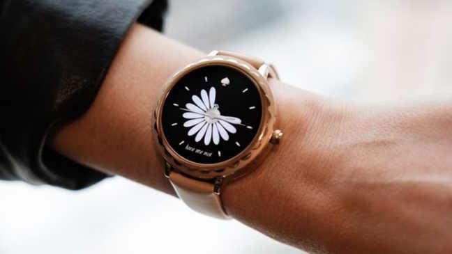 Beste smartwatch met een vrouwelijk ontwerp: Kate Spade Scallop