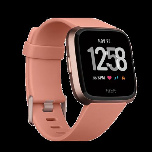 Fitbit Versa - Smartwatch - Peach