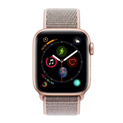 Apple Watch Series 4 - Goud - Goud en Roze