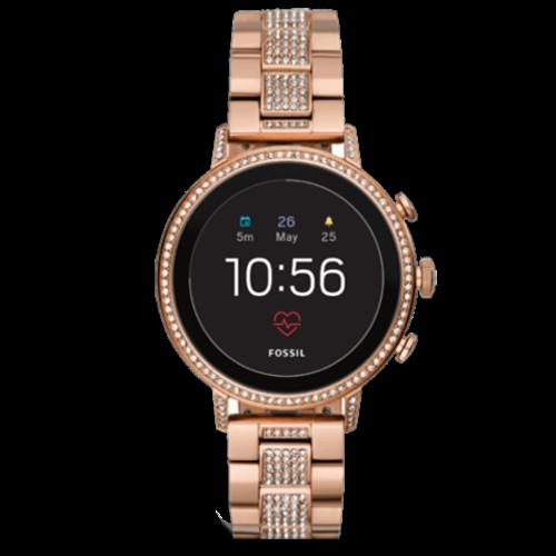 Fossil Q Venture HR Smartwatch - Rose Goud