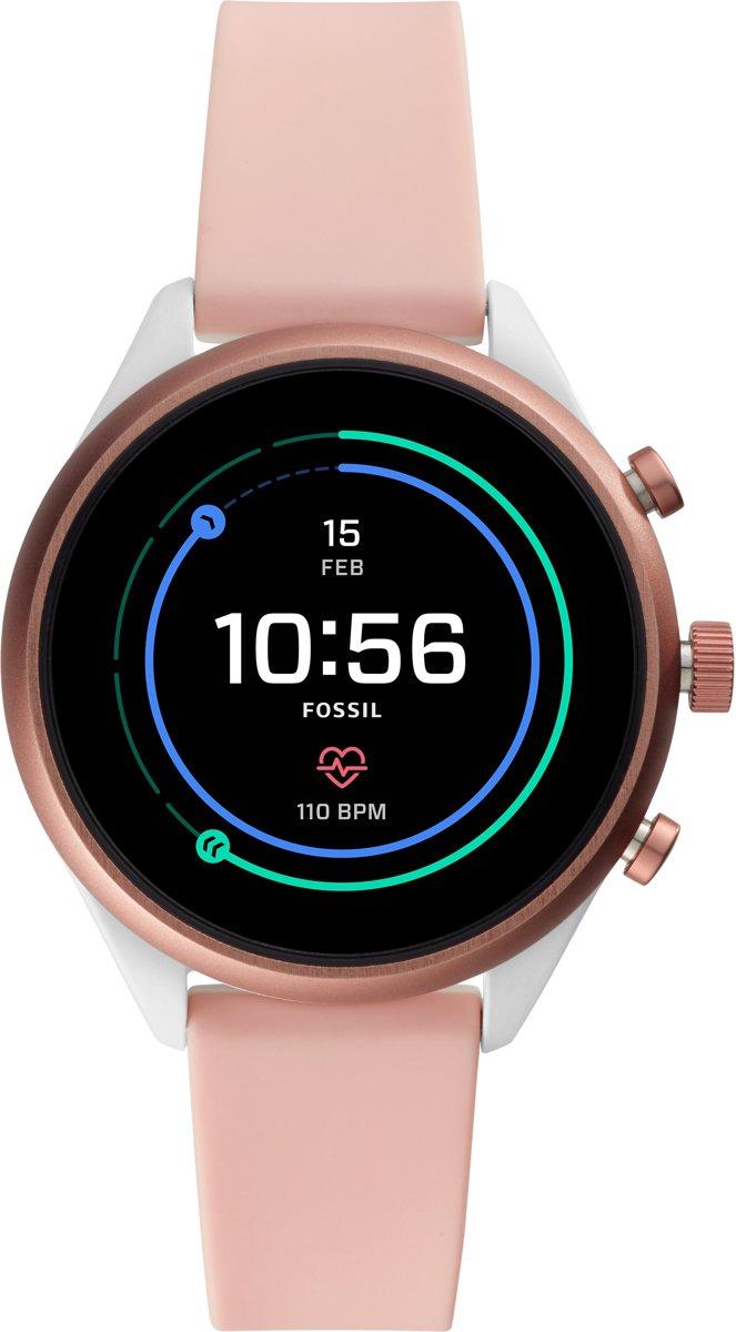 Fossil Sport Gen 4S FTW4019 - Smartwatch - Roze - 2019