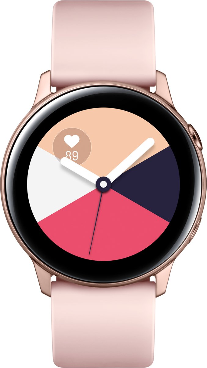 Samsung Galaxy Watch Active - Smartwatch Dames - Rose Goud - 2019