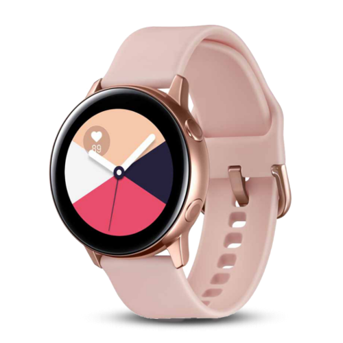 Samsung Galaxy Watch Active - Smartwatch Dames - Rose Goud