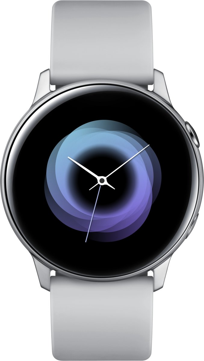 Samsung Galaxy Watch Active - Dames Smartwatch - Zilver - 2019