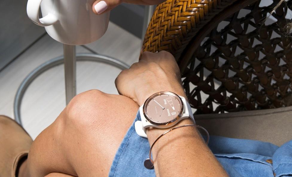 Garmin Vivomove HR dames hybride smartwatch