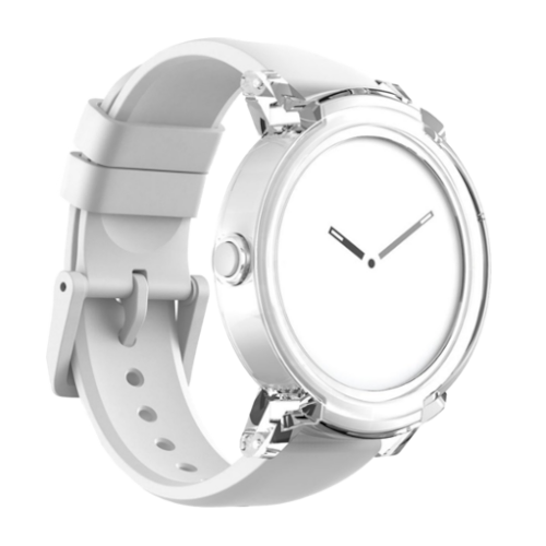 Ticwatch E - Dames Smartwatch - Ice - Standalone