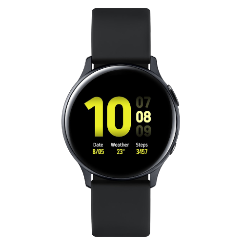 Samsung Galaxy Watch Active2 - Aluminium - 40mm - Zwart