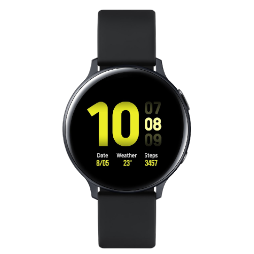 Samsung Galaxy Watch Active2 - Aluminium - 44mm - Zwart