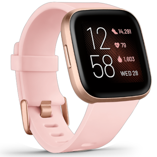 Fitbit Versa 2 - Smartwatch - Roze Goud