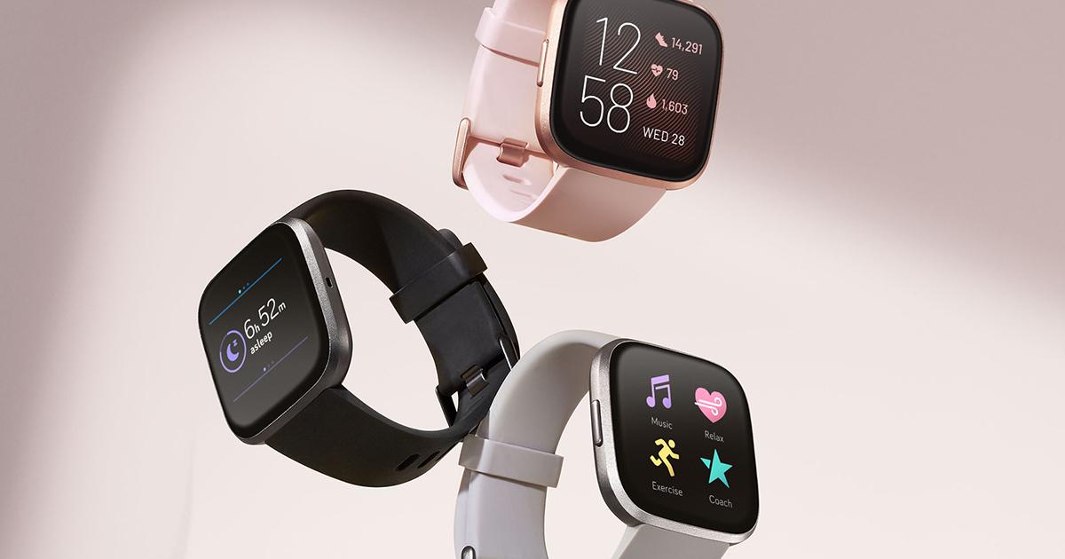 Beste smartwatches 2020: Fitbit Versa 2 smartwatch