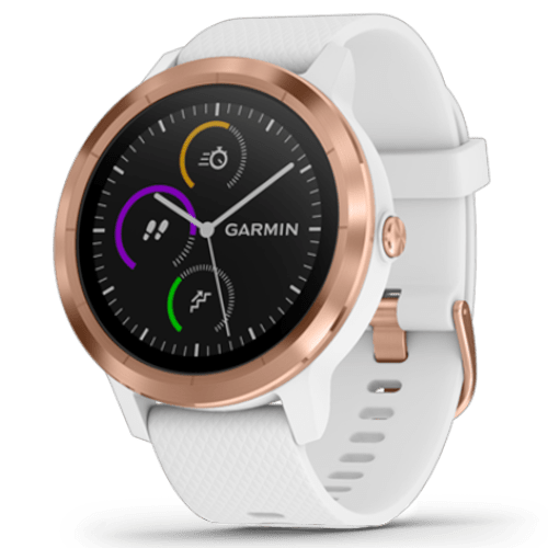 Garmin Vivoactive 3 - Smartwatch - Roségoud/Wit - 43 mm