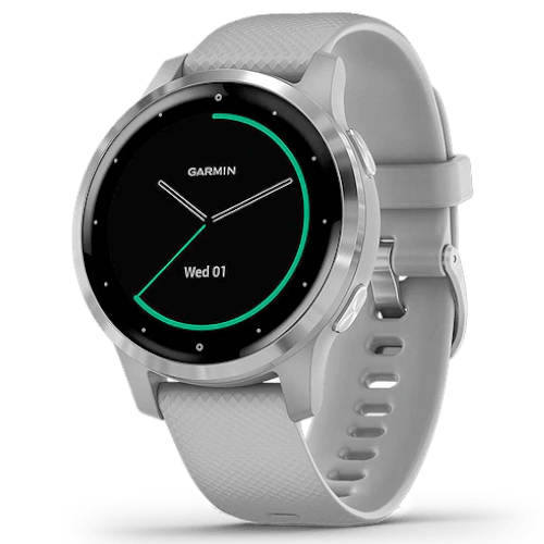 Garmin Vivoactive 4S - Smartwatch - Powder Gray