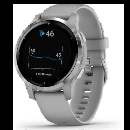Garmin Vivoactive 4S - Smartwatch - Powder Gray