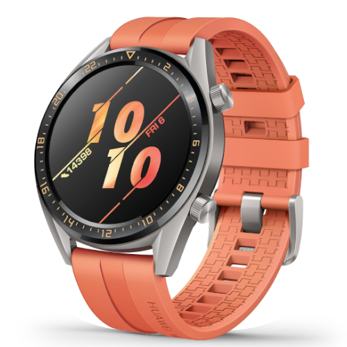 Huawei Watch GT 2 - Oranje - 46 mm