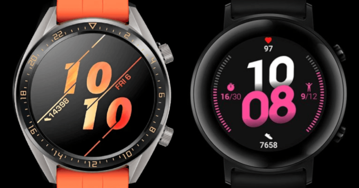 Huawei Watch GT 2 smartwatch.
