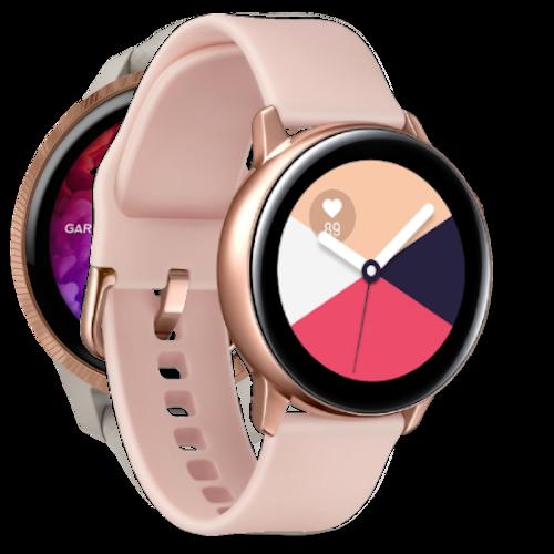 Samsung Galaxy Watch Active - Smartwatch - Rosegoud