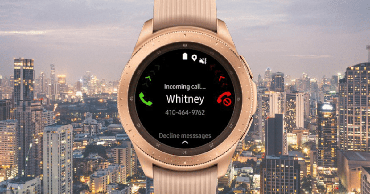 Samsung Galaxy horloge